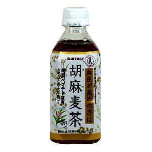 サントリー 胡麻麦茶 (特定保健用食品) 350ml ペットボトル 1本 160円