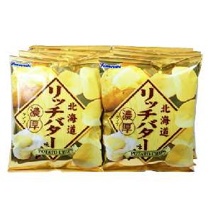 ヤマヨシ 北海道リッチバター味 濃厚タイプ 92円x12袋セット 1104円