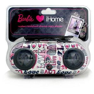 バービーのmp3プレーヤー♪生活防水!Barbie water-resistant stereo mp3 player 7900円【バー...