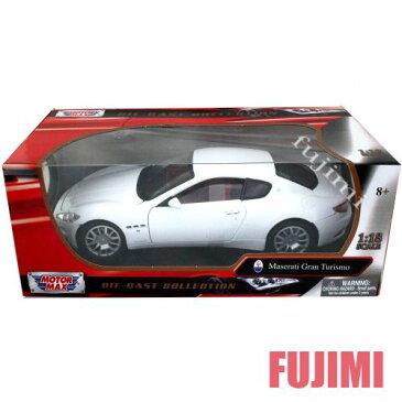 Maserati Gran Turismo wht 1/18 MOTOR MAX 7315円 【 マセラティ ダイキャストカー マセラッティ グランツーリスモ ミニカー ダイキャストカー 】【コンビニ受取対応商品】