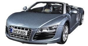 Audi R8 Spyder blue 1/24 Maisto 3612円 【 アウディ 水色 ダイキャストカー スーパーカー オープンカー マイスト ミニカー 】【コンビニ受取対応商品】