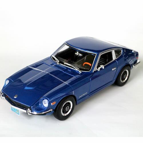 車, ミニカー・トイカー 1971 Datsun 240Z blue 118 Maisto ,,, ,,