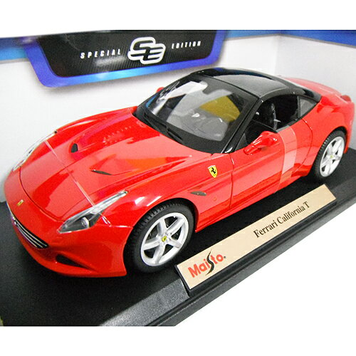 車, ミニカー・トイカー Ferrari California T ct red 118 Maisto 2686 151006