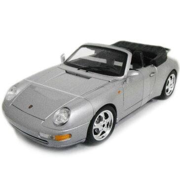 Porsche 911 Carrera Cabriolet SV 1/18 Bburago 7315円【 ポルシェ カレラ カブリオレ ミニカー ブラーゴ オープンカー ダイキャストカー スーパーカー 空冷 993 】【150813】【コンビニ受取対応商品】