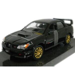 SUBARU IMPREZA WRX STI Black 1/24 MOTORMAX 3612円 【スバル インプレッサ モーターマックス 黒 ミニカー,5ドア,ハッチバック,ダイキャストカー WRC ラリー 】【コンビニ受取対応商品】