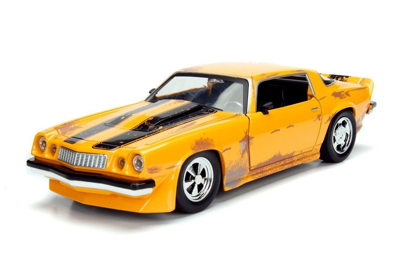 車, ミニカー・トイカー 1977 Chevrolet Camaro Concept Bumblebee Transformers 124 JADA TF5