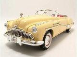 1949 BUICK ROADMASTER beige 1/18 MOTOR MAX American Classics 7778円【ビュイック,ミニカー,ロードマスター ダイキャストカー ベージュ,ツートン,アメ車 クラシックカー 】【コンビニ受取対応商品】