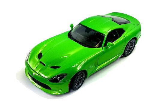 車, ミニカー・トイカー 2013 SRT Viper GTS Green 118 MAISTO ,,,,