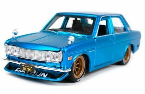 車, ミニカー・トイカー 1971 Datsun 510 Tokyo MOD 124 Maisto Design 3889 NISSAN
