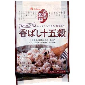 お米と一緒に炊くだけの穀物ごはんの素!ハウス もち米入り 香ばし十五穀 6袋入 390円