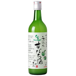 徳島産すだち果汁使用添加物無添加本家松浦酒造 無添加 生すだち酒の素 720ml 1250円