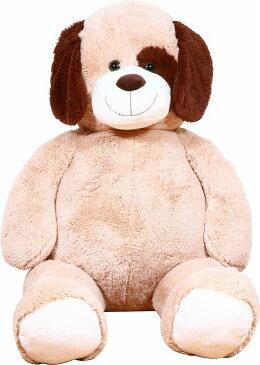 【今年最後のポイント最大43倍+お得割クーポン!】イヌぬいぐるみ ベージュ 135cm クリスマス プレゼント ギフト キッズ 贈り物 ぬいぐるみ おもちゃ くま いぬ ドッグ