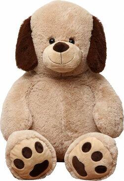 【今年最後のポイント最大43倍+お得割クーポン!】イヌぬいぐるみ ベージュ 100cm クリスマス プレゼント ギフト キッズ 贈り物 ぬいぐるみ おもちゃ くま いぬ ドッグ