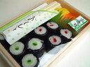 【京菓子】海外土産に如何ですか?飴細工 にぎり寿司