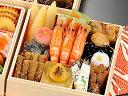 商品画像:海鮮かに処の人気おせち2018楽天、京のおせち 平安(三段)