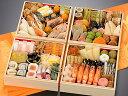 商品画像:男の台所の人気おせち2018楽天、京のおせち 慶賀(四段)