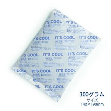 保冷剤 300グラム It's Cool(イッツクール) I-300F 不織布 1ケース(60入) 【業務用】
