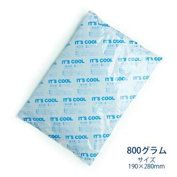 保冷剤 800グラム It's Cool(イッツクール) I-800 1ケース(20入) 【業務用】