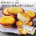 プチギフト 洋菓子 チーズタルト お礼 感謝 挨拶 内祝 お中元 スイーツ はらドーナッツ×PABLOのチーズタルト(6個入/箱×2個) ギフト 豆乳 チーズ タルト