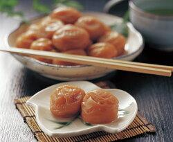 【梅干し】紀州産南高梅 しそ漬け梅 400g     大きいサイズの紀州産南高梅を使用しています。色合い香り豊かなしそ風味で酸っぱさと甘さが絶妙な絶品の味です。