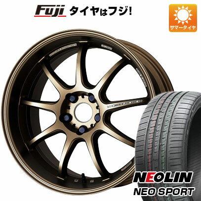 タイヤ・ホイール, サマータイヤ・ホイールセット  20550R17 17 WORK D9R 7J 7.00-17 NEOLIN () 4