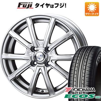 タイヤ・ホイール, サマータイヤ・ホイールセット  16555R14 14 4 BIGWAY EXPLODE DM-10 4.5J 4.50-14 YOKOHAMA ES31