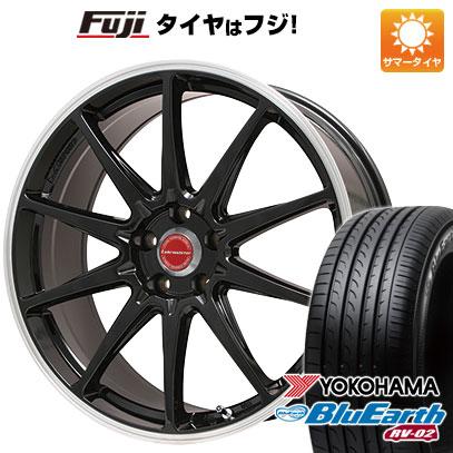 タイヤ・ホイール, サマータイヤ・ホイールセット  22555R17 17 4 LEHRMEISTER LMRS10() 7.5J 7.50-17 YOKOHAMA RV-02