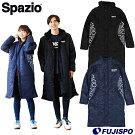 迷彩エンボスベンチコート(TP0540)スパッツィオ(Spazio)ベンチーコートロングコート中綿コート