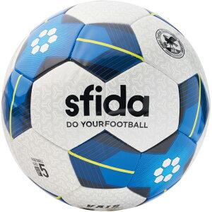 VAIS5号球(BSF-VA02)スフィーダサッカーボール5号球ホワイト×ブルー【スフィーダ/SFIDA】