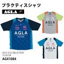 プラクティスシャツ(agx1084)【アグラ/AGLA】アグラ半袖プラクティスシャツ