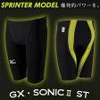 【あす楽対応】 Mizuno ミズノ メンズ 競泳水着 ハーフスパッツ GX・SONIC2 ST N2MB5001
