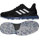 アディダス adidas テニスシューズ メンズ コートジャムバウンス マルチコート G26829 キャッシュレス・消費者還元事業 5%
