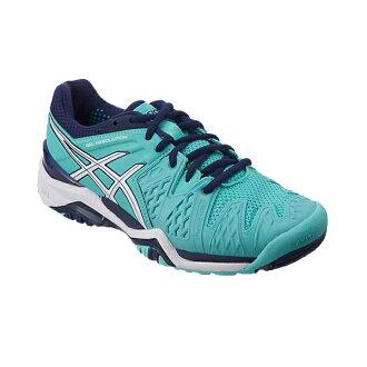 [明天輕鬆的對應]asics亞瑟士網球鞋女士女士凝膠解決6 TLL752 3901彩色