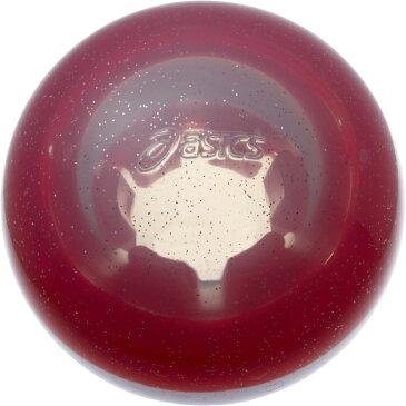 【取り寄せ品】 asics アシックス GGG331 グラウンドゴルフボール ハイパワーボール ストレート クリア レッド