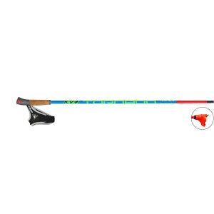 【クロスカントリースキー店舗】 KV+ ケーブイプラス クロスカントリースキー ポール トルネード プラス ジュニア クリップ 9P003JQ