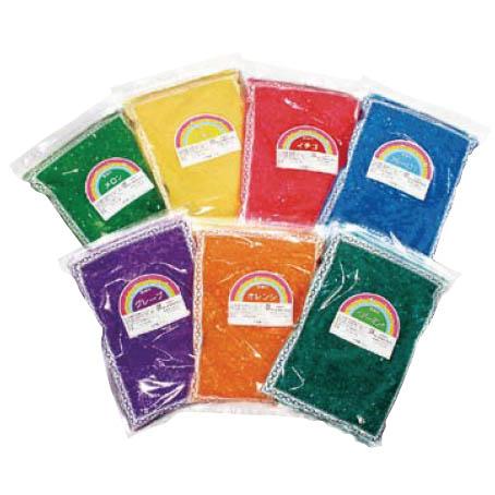 (かっぱ橋 ふじたクッキング 販売) カラーザラメ (ブルーハワイ) わたがしレインボーシュガー 綿菓子 ザラメ 人気の ブルーハワイ わたあめ 粗目 わた菓子 ざらめ 味付き 綿あめ 1kg