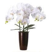 盆提灯花飾り造花『らんプレミアム個高さ54cm』