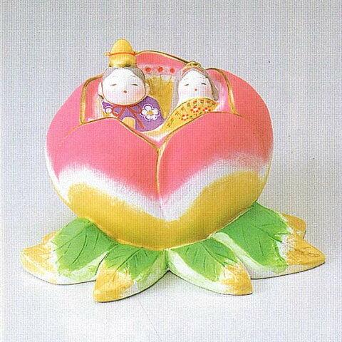 【博多人形】【雛人形】『愛 四郎作』