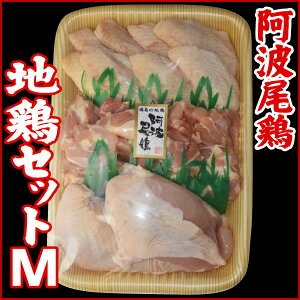 阿波尾鶏 (地鶏セットM)【送料無料】【阿波牛の藤原】 阿波尾鶏 (地鶏セットM) ももカッ...