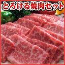 お試しセット!送料無料!「阿波牛の藤原」黒毛和牛「極み」とろける焼肉セット1kg(4〜5人前)…