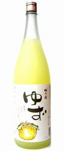 梅乃宿ゆず酒8度1800ml