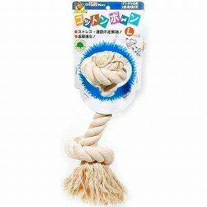 ドギーマンハヤシ 犬用おもちゃ コットンボーン 縦型 L【楽フェス_ポイント10倍】