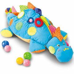 【送料無料】ケーキッズ ベビー用おもちゃ ボールプール ボール・ザウルス TYKK10445 6ヶ月から【代引不可】