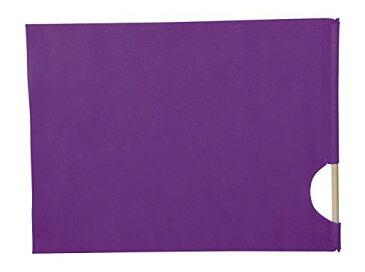 ハンドフラッグ 紫 2369