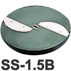 供供中部公司業務使用的PRO CHEF烹調機蔬菜切片機小切片機SS-250C專用的可選擇的薄片使用的切片圓盤2張刃SS-1.5B