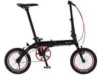【送料無料】RENAULT(ルノー)ULTRALIGHT7ブラックAL-FDB140【ウルトラ7超軽量7.4kg超小型14インチ折りたたみ自転車最...【】