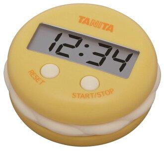 百利達(TANITA)號碼盤計時器芒果黄色TD-397-YL[貨到付款不可]