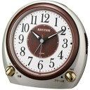 リズム時計工業 置き時計 目覚まし時計 デュアルサウンドR641 8RA641SR18【代引不可】