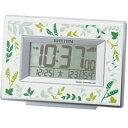 リズム時計工業 置き時計 電波目覚まし時計 フィットウェーブD174 8RZ174SR05【代引不可】