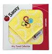 〔ギフト〕Sassy(ライセンス) ミニタオル/イエロー/箱入り NZSA5454【代引不可】